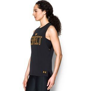 e6203eac48f606 Under Armour Tops - Under Armour x Project Rock Women s Respect Tank